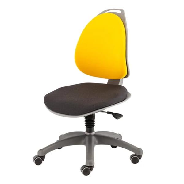 Компьютерное кресло для школьника Berry Желто/черный Серебро