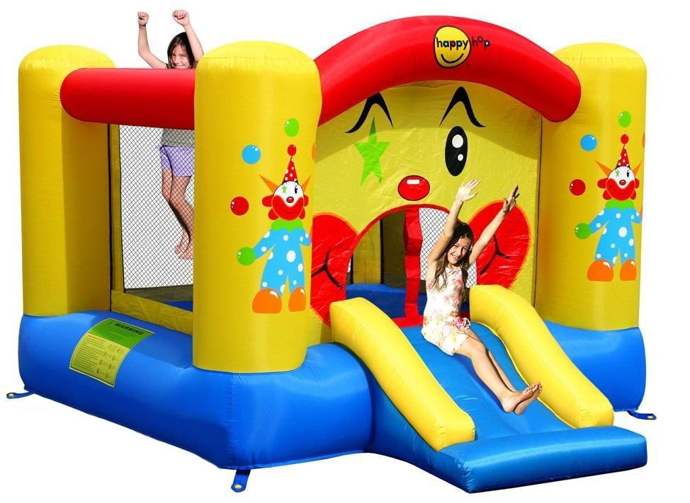 Надувной комплекс Happy Hop 9201 Забавный Клоун ПВХ Смешанный happy hop надувной батут клоун 9304y