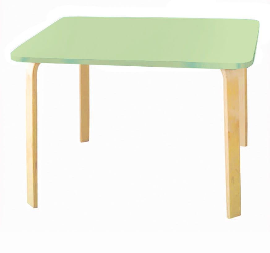 Детский стол Polli Tolli Детский столик Мордочки салатовый стол детский пластишка салатовый 42 5х38х52 5 см
