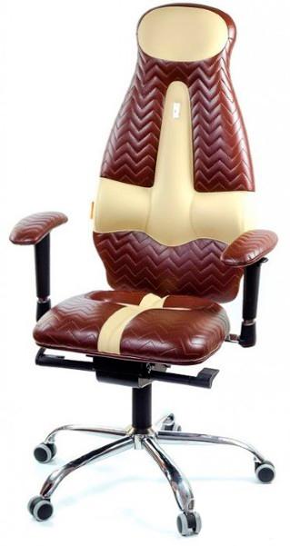 Офисное кресло Kulik System Galaxy Металл Коричневый Серебро эргономичное кресло kulik system galaxy 1104