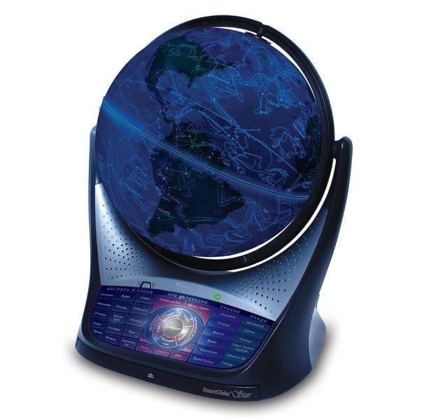 Интерактивный обучающий глобус Smart Globe Oregon Scientific SG18-11 Звездное небо глобус oregon scientific smartglobe v3 d 25 sg18
