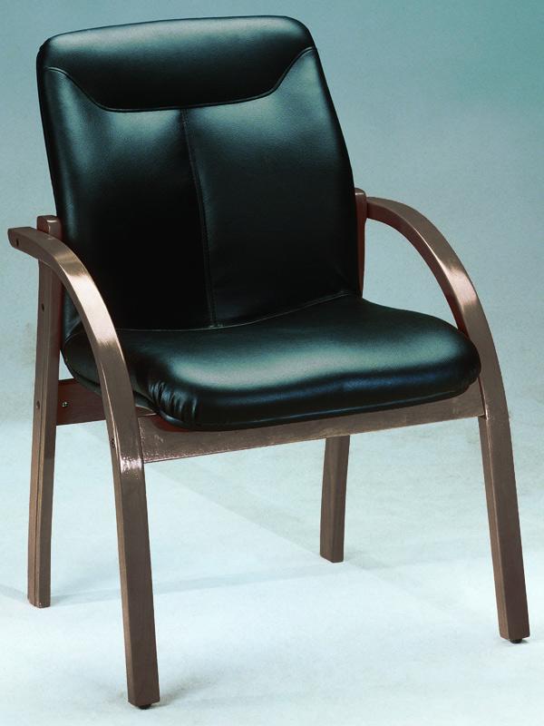 Офисное кресло Profoffice Maxus/C Эко-кожа / Кожа Черный Орех Искусственная кожа 4 опоры офисное кресло profoffice urban mesh пластик ткань черный хром сетка кожа 4 опоры