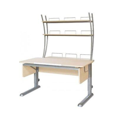 Комплект Астек Парта МОНО-2 с надстройкой со стулом SF-3 и прозрачной накладкой на парту 65х45