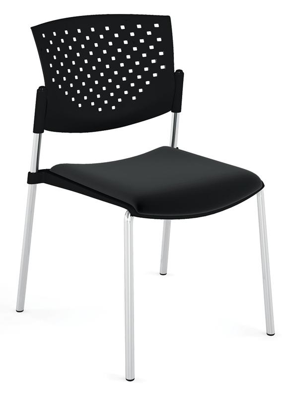 Офисное кресло Profoffice Butterfly Пластик / ткань Черный Хром Пластик - ткань офисное кресло profoffice urban mesh пластик ткань черный хром сетка кожа 4 опоры