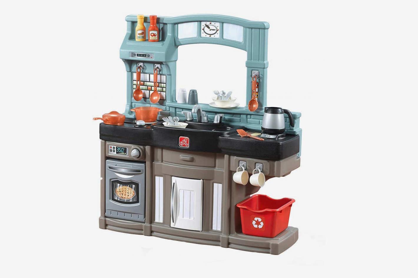 Игровые комплексы Step 2 Step 2 Игровая кухня Поварёнок Пластик Смешанный орз 2 шт нержавеющей стилкомпани над дверью крюк self кухня вешалка висит пальто хранения крючки
