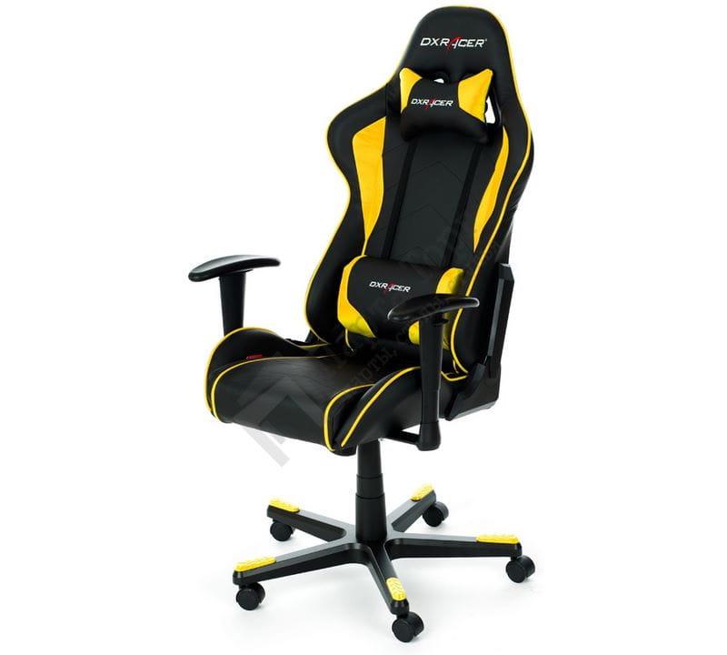Компьютерное кресло DXRacer F-серия OHFE08NY dxracer oh ea01 nr компьютерное кресло black red