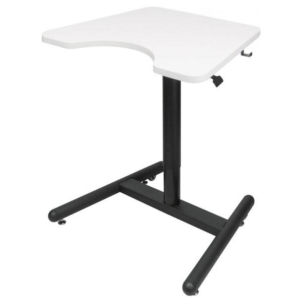 Трансформируемый компьютерный стол Salli SCHOOL DESK МДФ Белый Черный