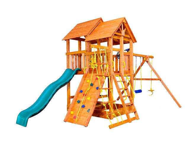 Фото - Детская игровая площадка PlayGarden SkyFort стандарт Массив дерева Массив Кипариса телескоп