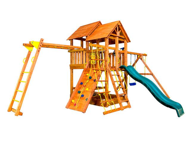 Игровая площадка PlayGarden SkyFort II стандарт с рукоходом игровая площадка playgarden green hill