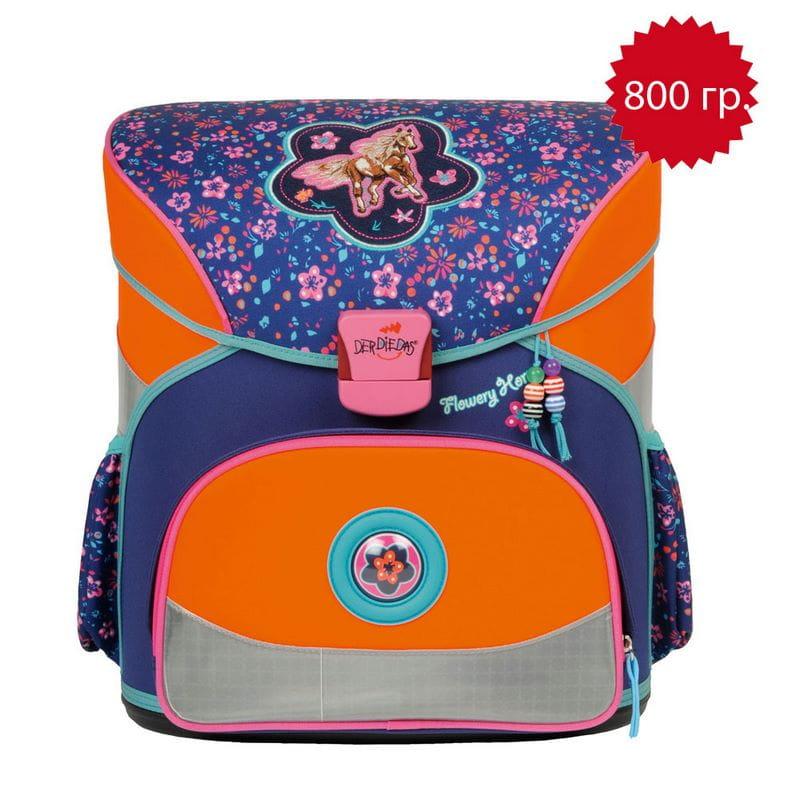 Школьный ранец Fliegengewicht XS Цветочный пони ранец derdiedas derdiedas ранец школьный basic с наполнением вездолет