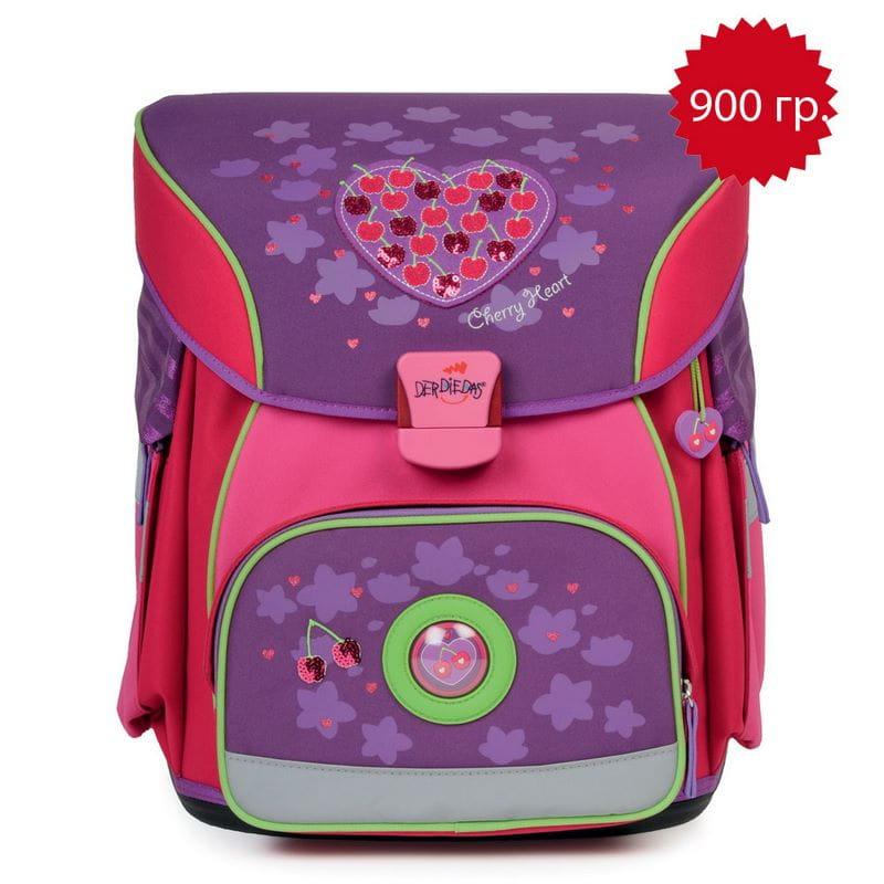 Школьный ранец X-Light Вишнёвое сердце