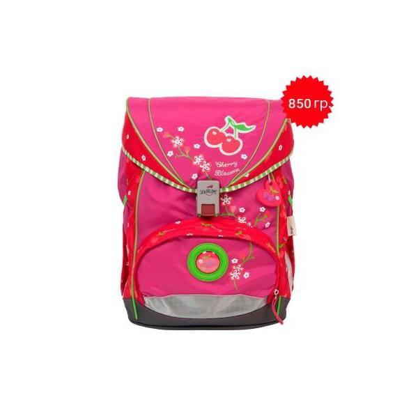 """Ранец ErgoFlex XL """"Цветущая вишня"""", спортивная сумка, два пенала и папка-бокс"""