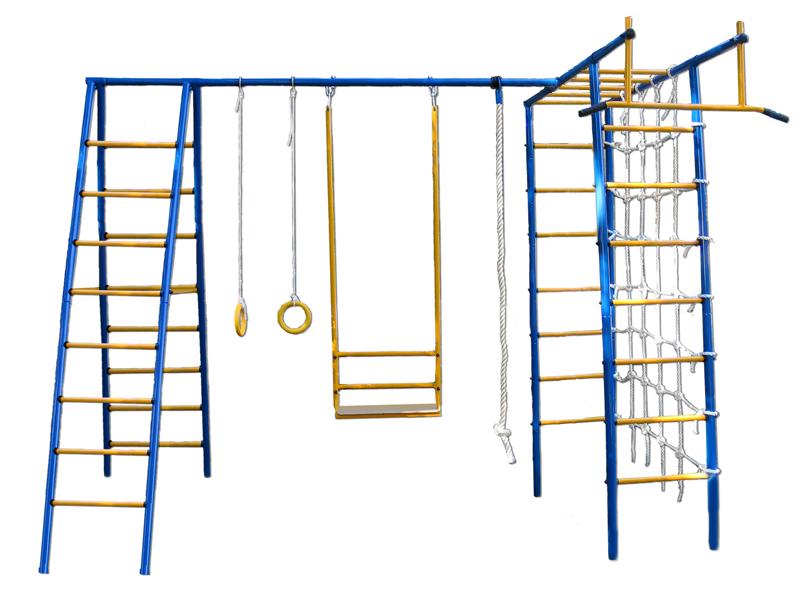 Уличный детский спортивный комплекс Kampfer Active game Plus комплект навесного оборудования pubert для mb 87l r0063