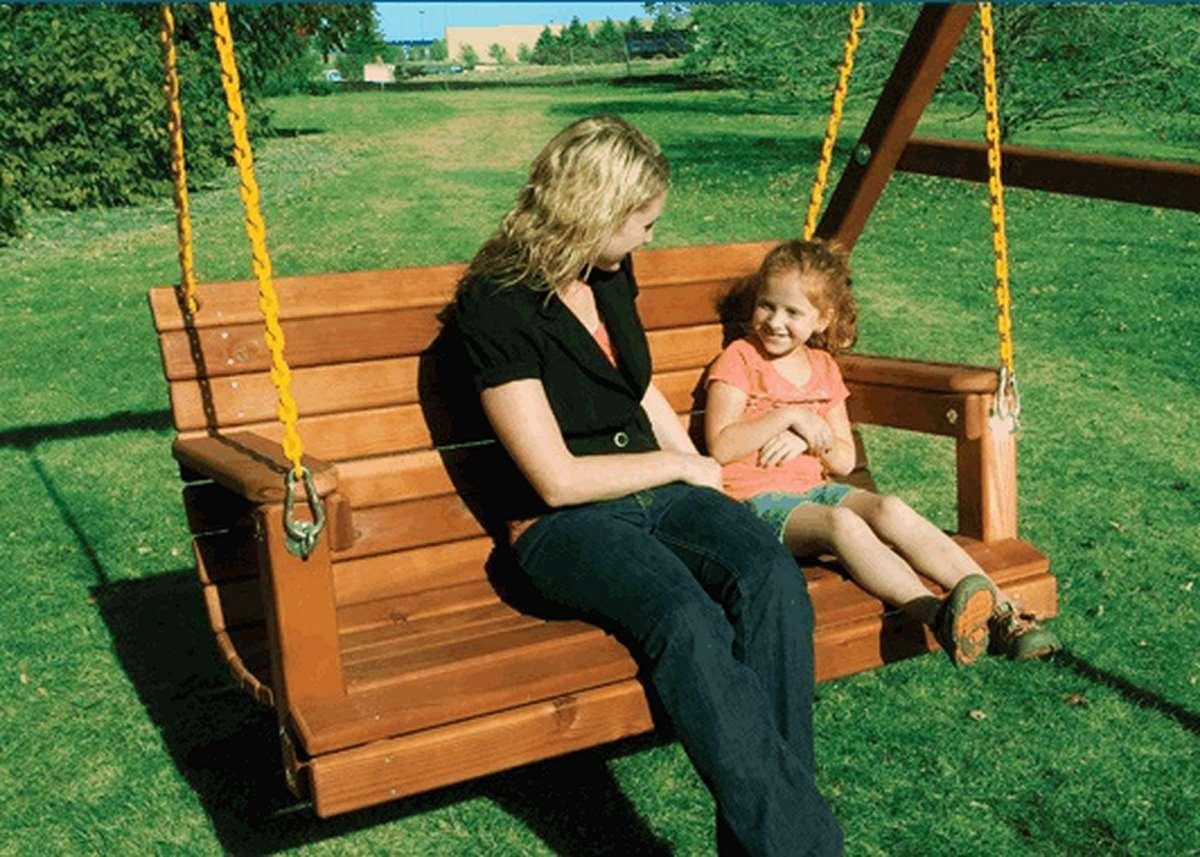 Взрослая садовая качель (Adult Lawn Swing)