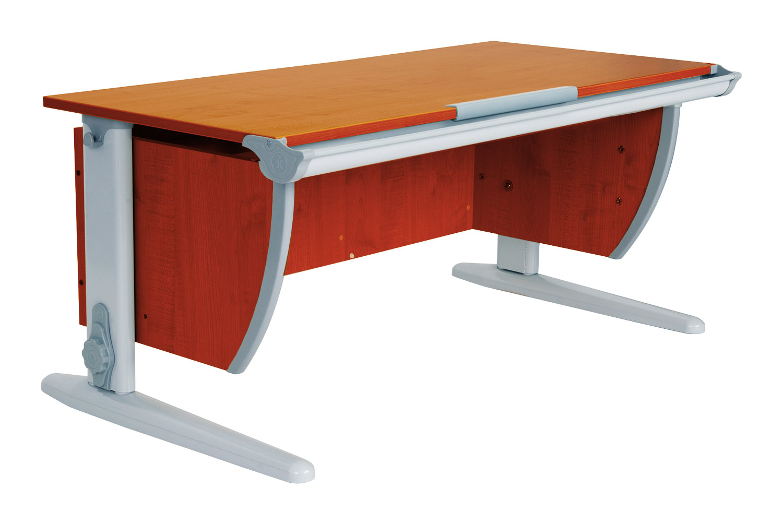 Стол для школьника Дэми Сут -15 ЛДСП Яблоня Серый