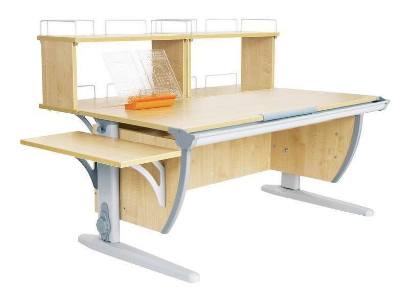 Парта Дэми Парта (Деми) СУТ 15-02Д2 (парта 120 см+две двухъярусные задние приставки+боковая приставка)