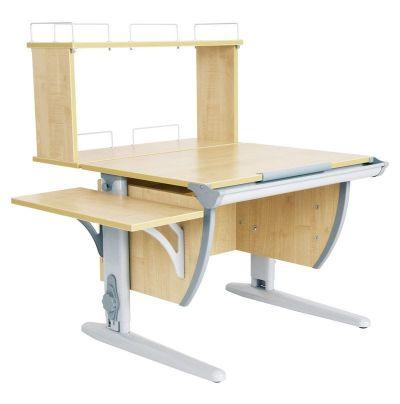 Комплект ДЭМИ Парта СУТ 14-02Д с креслом Aladdin и прозрачной накладкой на парту 65х45