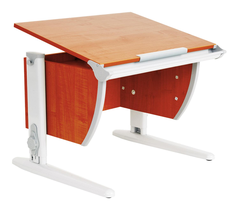 Стол для школьника Дэми СУТ-14 ЛДСП Яблоня Серый школьные парты дэми стол универсальный трансформируемый сут 17 столешница клен