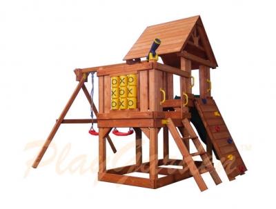 Игровая площадка PlayGarden Green Hill II с балконом