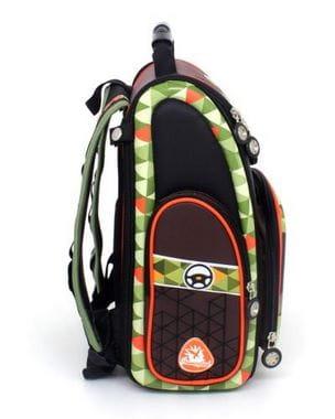 Черный ранец Hummingbird Escape Adventure для мальчика (K100)