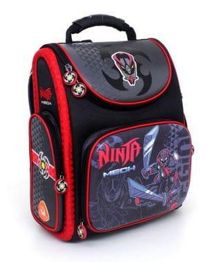 Темно-синий ранец Hummingbird Ninja Mech для мальчика (K107)