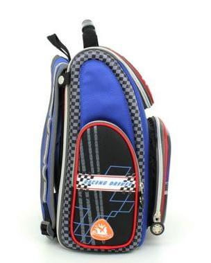 Синий ранец Hummingbird Pro Racing для мальчика (K90)