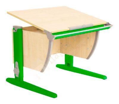 Парта Дэми (Деми) СУТ 14-02Д (парта 75 см+задняя двухъярусная приставка+боковая приставка) (образец)