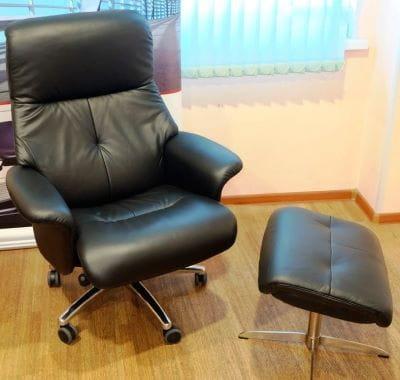 Кресло реклайнер Relax BOSS на колесной базе