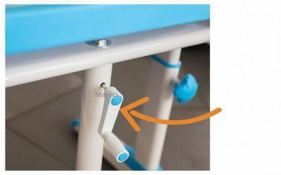 Комплект мебели (столик + стульчик + лампа) BD-09 XL