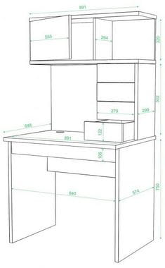 Компьютерный стол СКМ-30М