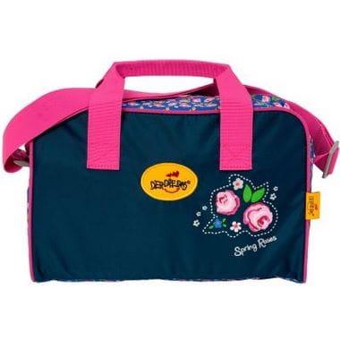 """Ранец ErgoFlex """"Розы"""", спортивная сумка, два пенала и папка-бокс"""