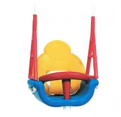 Детское сиденье пластиковое со спинкой (3 в 1)