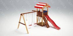 Детская игровая площадка Савушка - 5