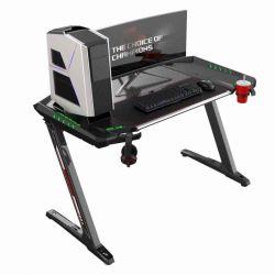 Стол для компьютера (для геймеров) Eureka Z2 c RGB подсветкой