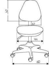Детское эргономичное кресло Comf-pro Match Chair (Матч) (образец)