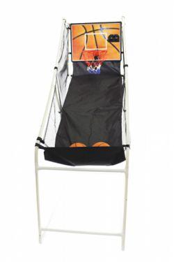 Баскетбольная стойка электронная с одним кольцом