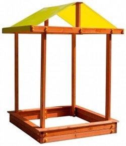 Детская песочница Самсон «Дюна с крышей»