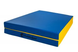 Мат Perfetto Sport № 8 (100 х 200 х 10) складной 1 сложение сине/жёлтый