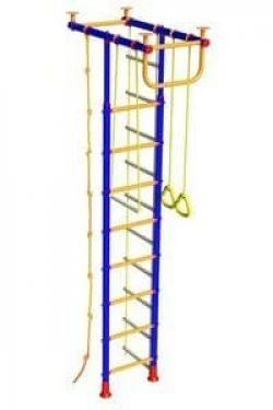 Детский спортивный уголок Малыш - 2 (Форма - Т-образный)