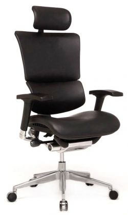Профессиональное кресло для работы за компьютером Expert Sail Leather