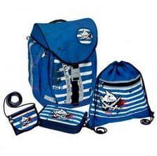 Школьный рюкзак Capt'n Sharky Flex Style с наполнением