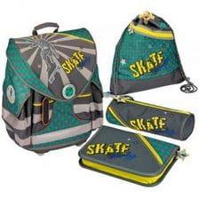 Школьный ранец  Spiegelburg Skateboarding Ergo Style+ с наполнением