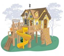 Детский игровой домик «Рокси»
