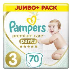 Подгузники-трусики 70 шт. PAMPERS (Памперс) Premium Care Pants, размер 3 (6-11 кг), 1210807