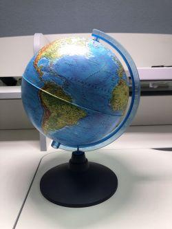 Глобус Земли физический Globen 210 мм Классик Евро (образец)