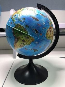 Глобус Зоогеографический (Детский) 210 мм Globen серия Классик евро (образец)