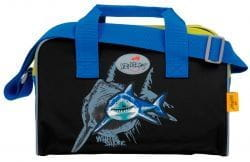 """Ранец ErgoFlex XL """"Белая акула"""", спортивная сумка, два пенала и папка-бокс"""