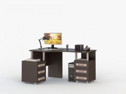 Стол письменный, компьютерный Соло 025