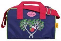 """Ранец ErgoFlex """"Цветущая яблоня"""", спортивная сумка, два пенала и папка-бокс"""