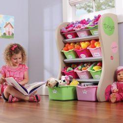 Центр хранения Step 2 розовый